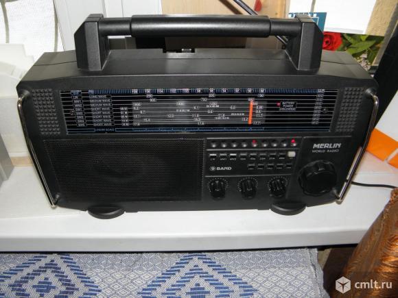 Радиоприемник Merlin World Radio. Фото 6.