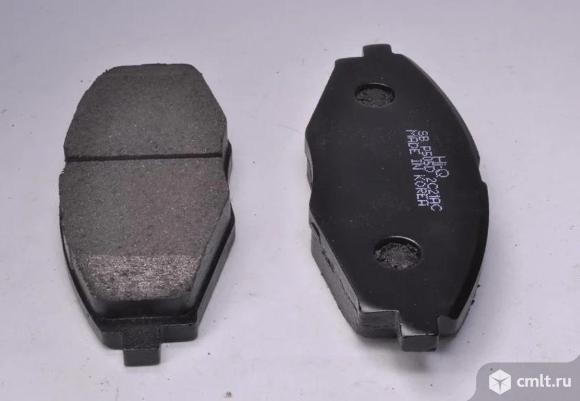 Колодки тормозные передние матиз. Фото 1.