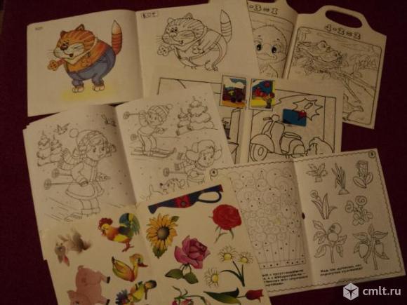Детские книжки раскраски. Фото 5.