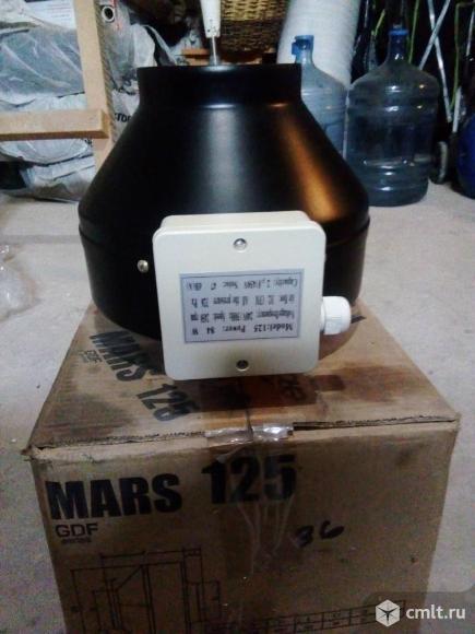 Вентилятор канальный центробежный Mars 125. Фото 1.