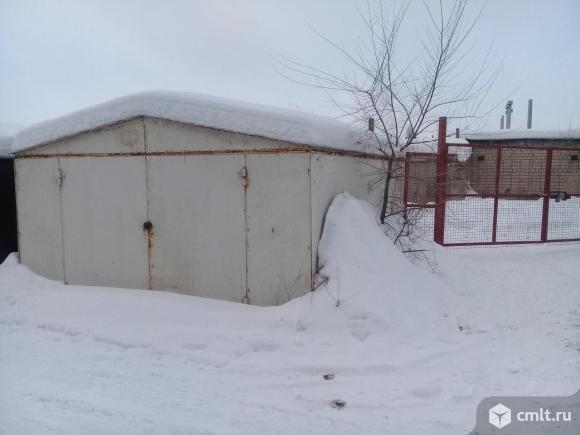 Металлический гараж Рубин-1. Фото 2.