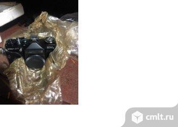 Продам фотокамеру зенит с объективом гелеос 44м новый не дорого. Фото 1.