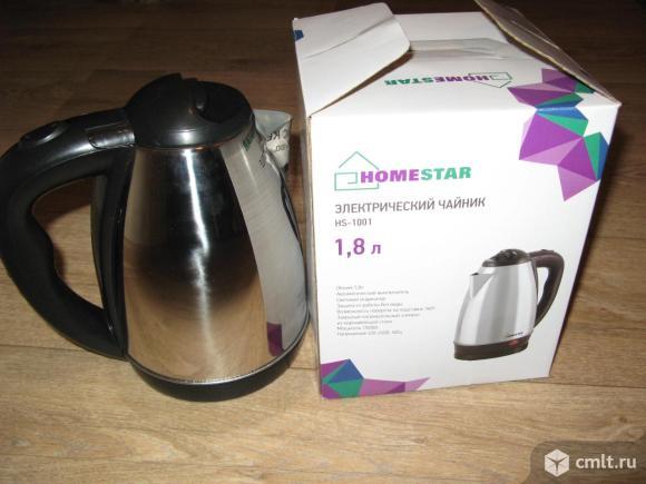 Продам чайники электрические новые не дорого. Фото 1.