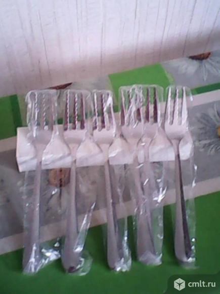 Набор вилок для спагетти. Фото 1.