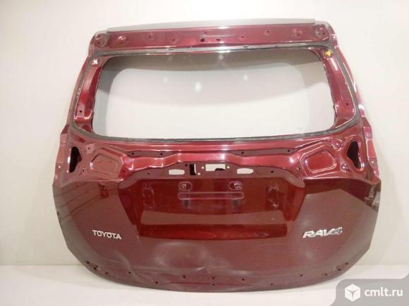 Крышка багажника TOYOTA RAV4 15- б/у 670050R270 3*. Фото 1.