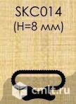 Уплотнитель резина 8 мм под двойной паз для тентов. Фото 1.