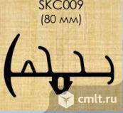 Уплотнитель резина 80 мм 3 гребенки и паз (под заказ от 10 м/п). Фото 1.