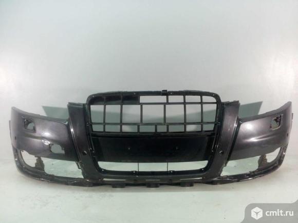Бампер передний под парк омыв AUDI A6 ALLROAD 05-11 б/у 4F0807105NGRU 4F0807105MGRU 3*. Фото 1.