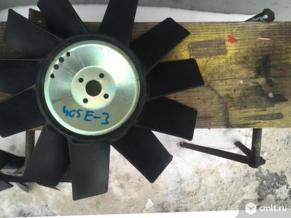 Крыльчатка вентилятора Газель ЗМЗ 405. Фото 1.