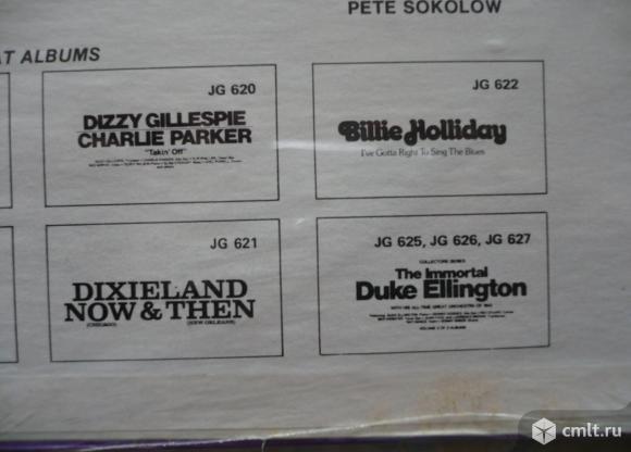 "Грампластинка (винил). Гигант [12"" LP]. Jazz Moods. Hall Of Fame - Jazz Greats. JG 631. США.. Фото 8."
