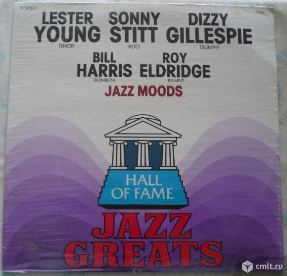 "Грампластинка (винил). Гигант [12"" LP]. Jazz Moods. Hall Of Fame - Jazz Greats. JG 631. США.. Фото 1."