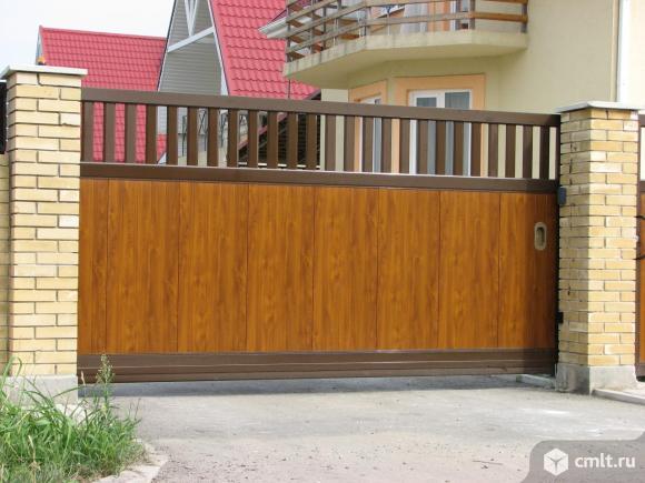 Откатные(сдвижные)ворота. Фото 1.