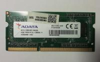 DDR3L 4GB 1600 SO-dimm CL 11 Adata