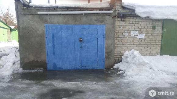 Капитальный гараж 24 кв. м Буран. Фото 1.