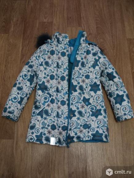 Куртка на 8-10 лет. Фото 1.