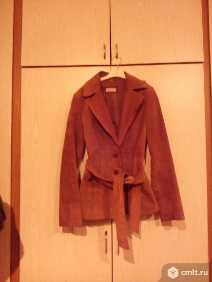 Замшевая куртка. Фото 1.