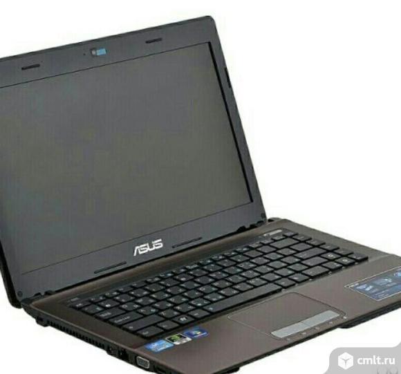Ноутбук Asus K43s на Core i3. Фото 1.