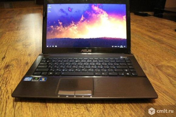Ноутбук Asus K43s на Core i3. Фото 2.