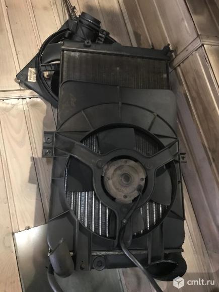 Вентилятор радиатора. Фото 1.
