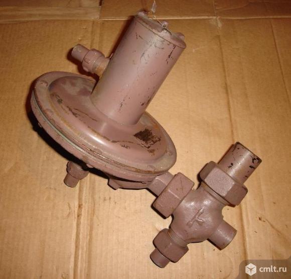 Регулятор давления газа РД-32М. Фото 1.