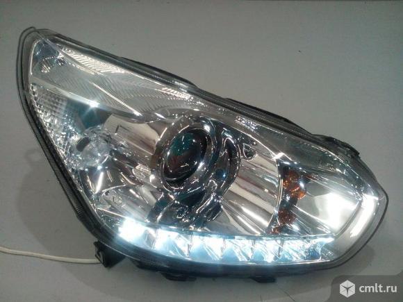 Фара правая LED CHERY TIGGO FL 12-15  оригинальная б/у T113772020AD 4* +  исправная дхо !. Фото 1.