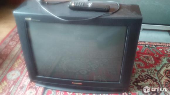 Телевизор кинескопный цв. Panasonic TC-25V70R. Фото 1.