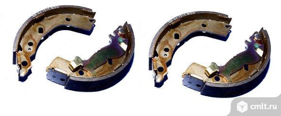 Колодки тормозные задние hyundai getz. Фото 1.