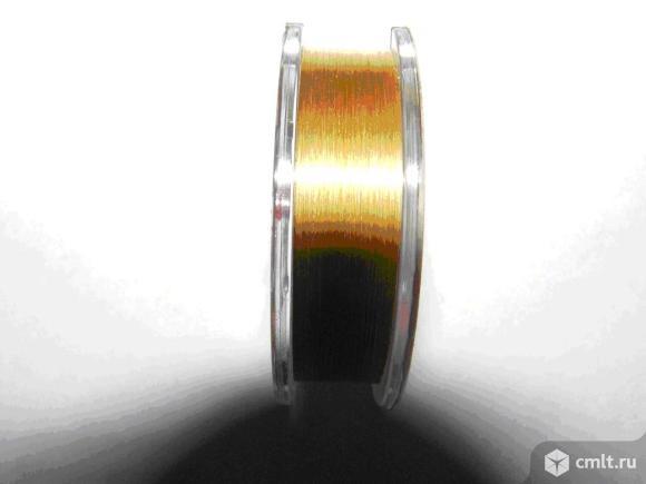 Продам вольфрамовая проволока цвет золотой диаметр 0.06мм ремонт оргтехники.. Фото 1.