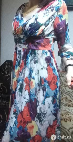 Продается красивое цветное платье.. Фото 1.
