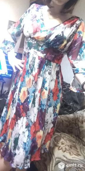 Продается красивое цветное платье.. Фото 7.