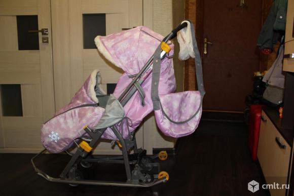 Продам. Санки-коляска Nika Наши Детки. Фото 1.