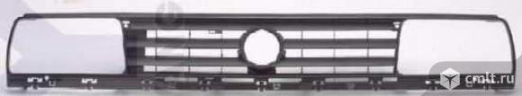 Решетка радиатора черн VW JETTA. Фото 1.