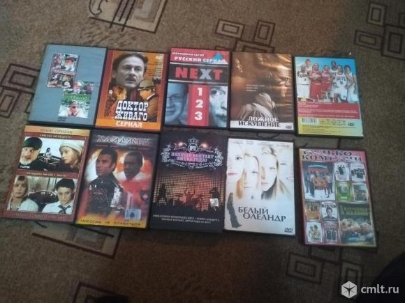 DVD диск с филмами  Снять с продажи. Фото 1.
