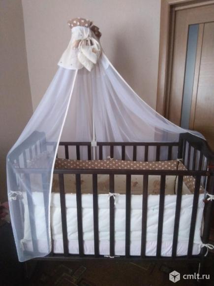 Продам детскую кровать от 0 до 3 лет. Фото 1.