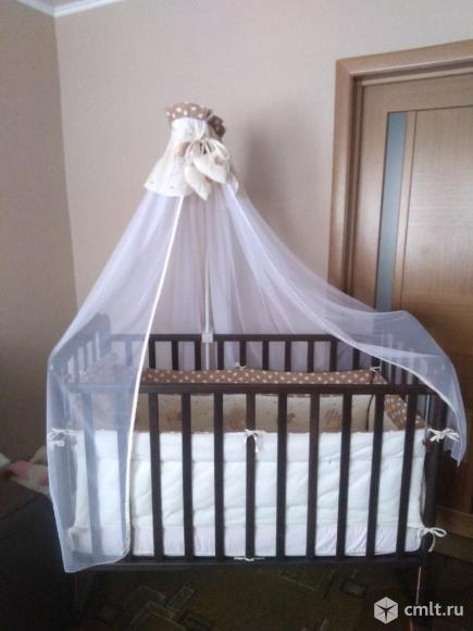 Продам детскую кровать от 0 до 3 лет. Фото 4.