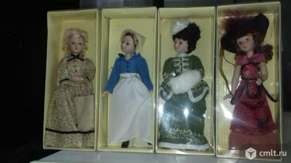 Куклы, коллекция Дамы эпохи, 17 шт. Фото 5.