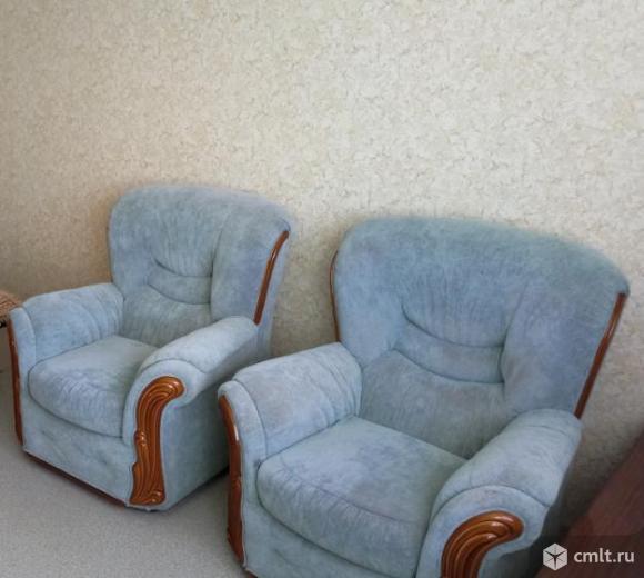 Кресла производства Белоруссии велюр. Фото 1.