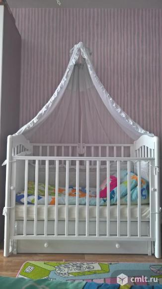 """Кроватка детская с универсальным маятником """"Ванечка"""" Гандылян. Фото 3."""