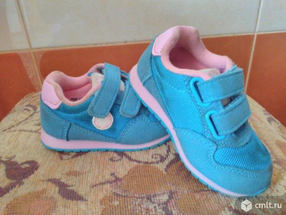 Кросовки для малышки. Фото 1.