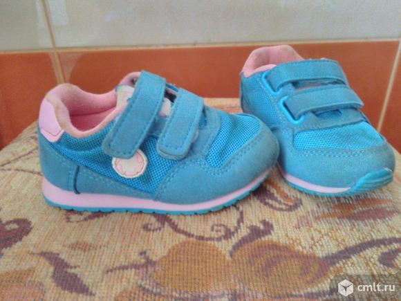 Кросовки для малышки. Фото 2.