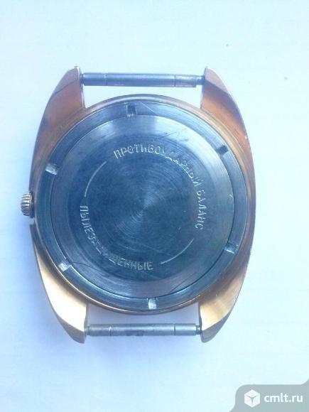 """Мужские наручные часы """"Восток"""" с позолотой AU-10 СССР.. Фото 6."""