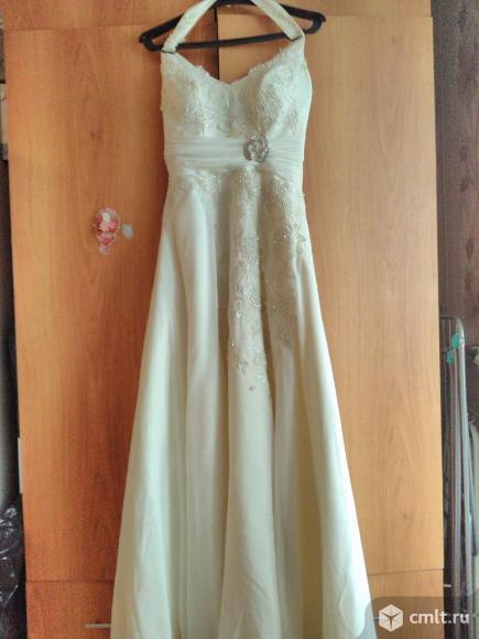 Свадебное,выпускное платье. Фото 1.