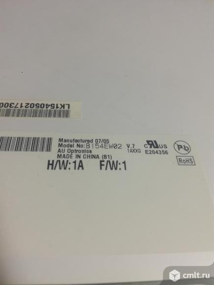 ЖК матрица B154EW02 V.7 от ноутбука. Фото 2.