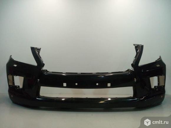 Бампер передний под омыв фар и парктр. LEXUS LX570 12-15 б/у 521196A970 2*. Фото 1.