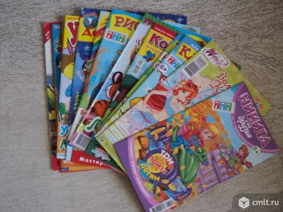 Детские журналы для творчества. Фото 1.