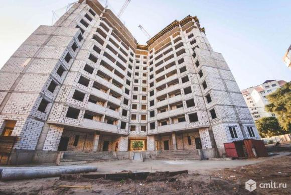 1-комнатная квартира 40,87 кв.м. Фото 5.