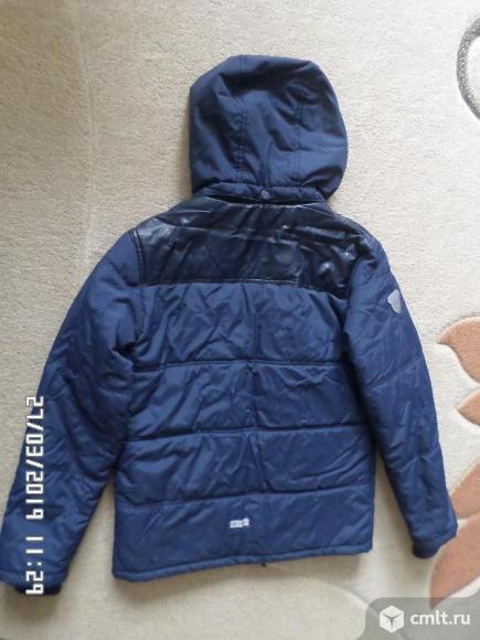 Куртка весна-осень новая на мальчика 12-13 лет. Фото 1.
