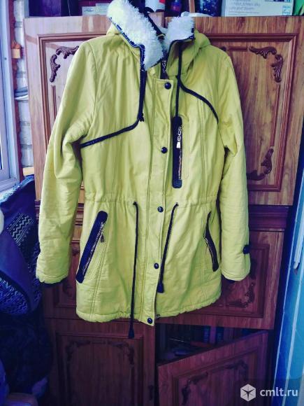 Куртка парка зимняя. Фото 1.
