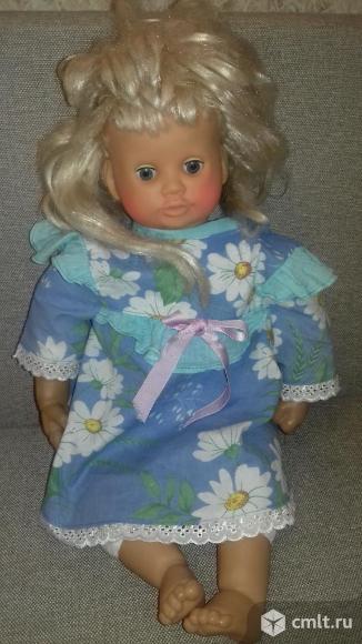 Кукла большая детская говорящая, б/у, идеальное состояние. Фото 1.