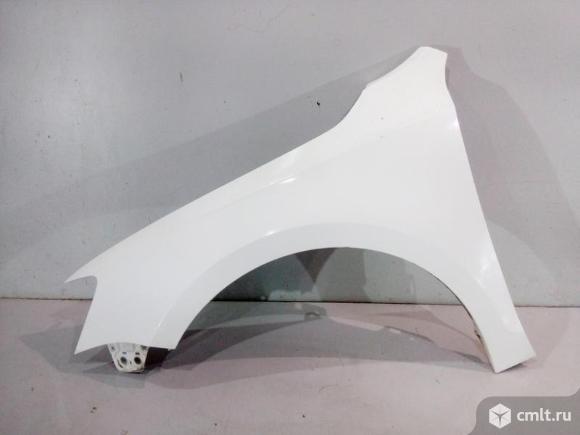 Крыло левое VW JETTA 11-15 б/у 5C6821105 3*. Фото 1.